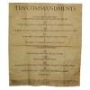 RTD-2632 - Ten Commandments Mini Poster