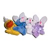 RTD-2685 - Plush Duck Rabbit Lamb Finger Puppets
