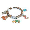 RTD-2702 - Handcrafted Jungle Safari Charm Bracelet
