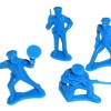 RTD-2743 - Bag of 72 Police Toy Soldiers Policemen Figures