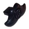 RTD-2769 - Black Plastic Mustache Lip Whistles