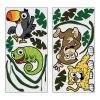 RTD-2865 - 19 Piece Set of Large Vinyl Safari Wall Decorations