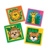 RTD-3155 - Plastic Zoo Animal Slide Puzzle