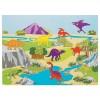 RTD-3306 - 12-pack of Dinosaur Sticker Scenes Crafts