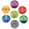 RTD-3483 - I Believe Inspirational Pin Back Button