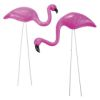 RTD-3540 - Mini Pink Flamingo Yard Ornaments 2 pc Set