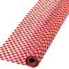 RTD-3541 - Red and White Checkered Picnic Tablecloth Roll