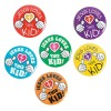 RTD-3569 - Jesus Loves This Kid Mini Metal Button Pin