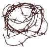 RTD-3820 - Nylon 18 ft Rusty Barbwire Cord Western Party Decoration