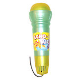 RTD-1008 - X-Large ECHO MIC - Green / Yellow Toy Microphone