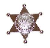 RTD-1237 - Plastic Deputy Sheriff Badge