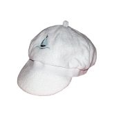 RTD-1326 - White Terry Cloth Baby Sailboat Sailor Hat