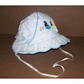 RTD-1329 - Easter Bonnet - Blue Trim - Small