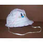 RTD-1336 - Easter Bonnet - Pink Trim - Medium