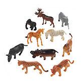 RTD-1395 - Assorted Plastic Zoo Animals