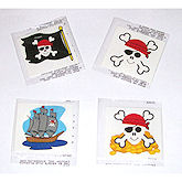 RTD-1398 - 72-pack of Pirate Tattoos