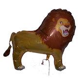 RTD-1502 - 32 inch Lion - Mylar Zoo Animal Balloon