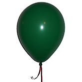 RTD-1545 - Green Latex Balloons - Large 12 inch