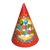 RTD-1585 - Happy Birthday Party Hats