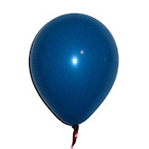 RTD-1589 - Blue Latex Balloons - Large 12 inch