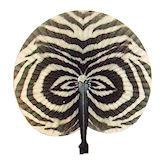RTD-1659 - Zebra Print Folding Fan