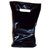 RTD-1695 - Black Plastic Magic Party Favors Bag