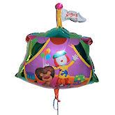RTD-1757 - Jojo Clown Tent Circus Balloon - 23 inch