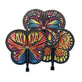 RTD-1790 - Paper Butterfly Folding Fan