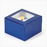 RTD-1798 - Blue Cupcake Boxes