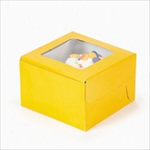 RTD-1800 - Yellow Cupcake Boxes