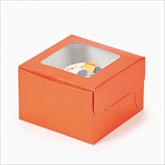 RTD-1801 - Orange Cupcake Boxes