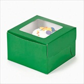 RTD-1802 - Green Cupcake Boxes