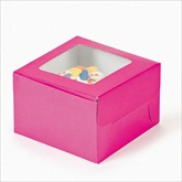 RTD-1803 - Hot Pink Cupcake Boxes