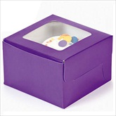 RTD-1804 - Purple Cupcake Boxes