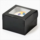 RTD-1805 - Black Cupcake Boxes