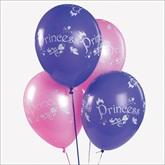 RTD-1904 - Princess Pink and Lavendar Balloons