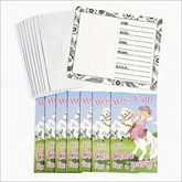 RTD-1936 - 8-pack of Pink Cowgirl Invitations