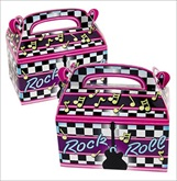 RTD-1945 - Rock and Roll Party Treat Boxes