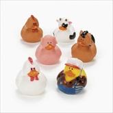 RTD-1984 - Farm Animal Rubber Ducks