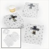 RTD-2042 - Christian Cupcake Box w/Crosses