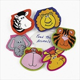 RTD-2087 - Zoo Animal Notepads w/ Wiggle Eyes