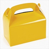 RTD-2135 - Yellow Treat Boxes for Party Favors