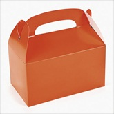 RTD-2136 - Orange Treat Boxes for Party Favors