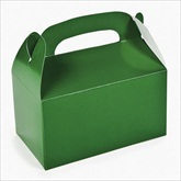 RTD-2137 - Green Treat Boxes for Party Favors