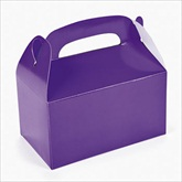 RTD-2139 - Purple Treat Boxes for Party Favors