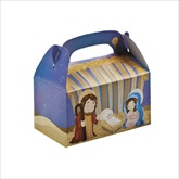 RTD-2144 - Christmas Inspirational Nativity Scene Treat Boxes