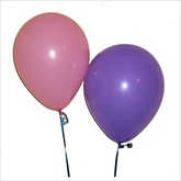 RTD-2215 - Assorted Pink and Lavender Balloons - Large 12 inch