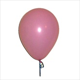 RTD-2216 - Pink Princess Party Balloons - Large 12 inch