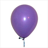 RTD-2217 - Lavender Princess Party Balloons - Large 12 inch