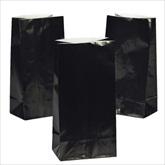 RTD-2320 - Black Paper Treat Bags